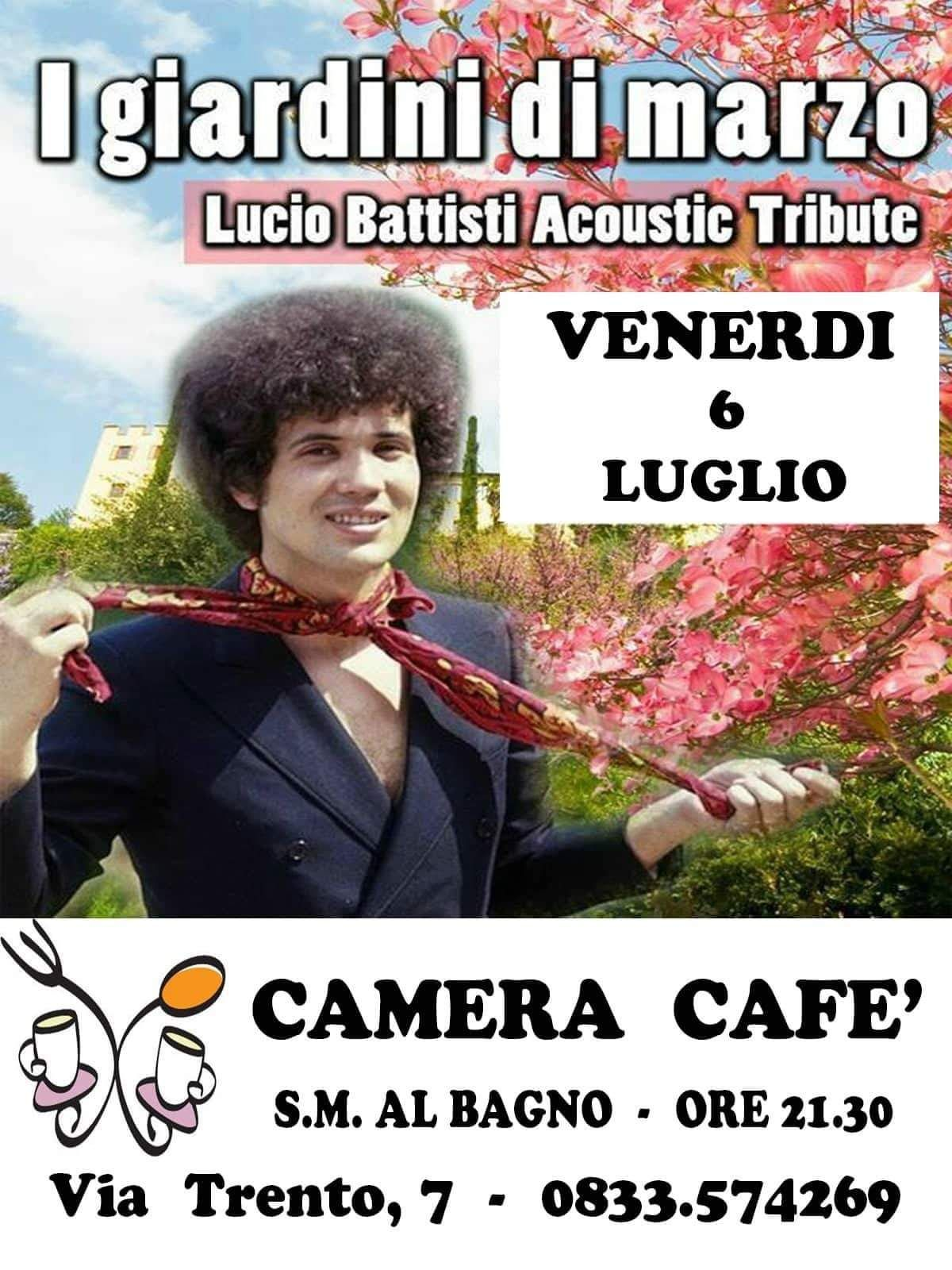 Lucio Battisti Acoustic Tribute 6 luglio 2018